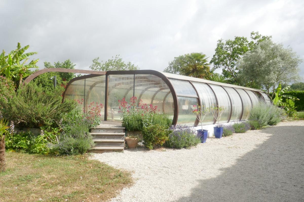 La piscine - Location de vacances - Liez