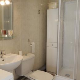 Salle d'eau - wc - Location de vacances - Moreilles