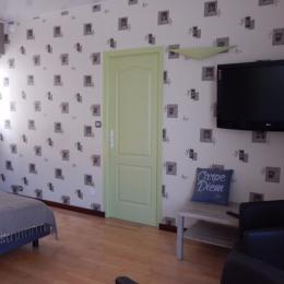 Chambre 2 lits 90  - Location de vacances - Moreilles