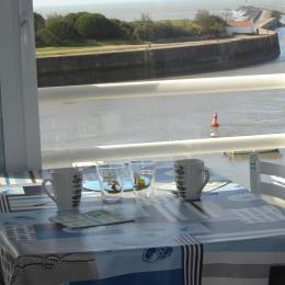 vue  du  balcon  - Location de vacances - Saint Gilles Croix de Vie