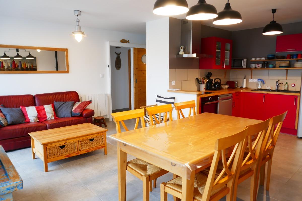 Salon/séjour - Location de vacances - La Guérinière
