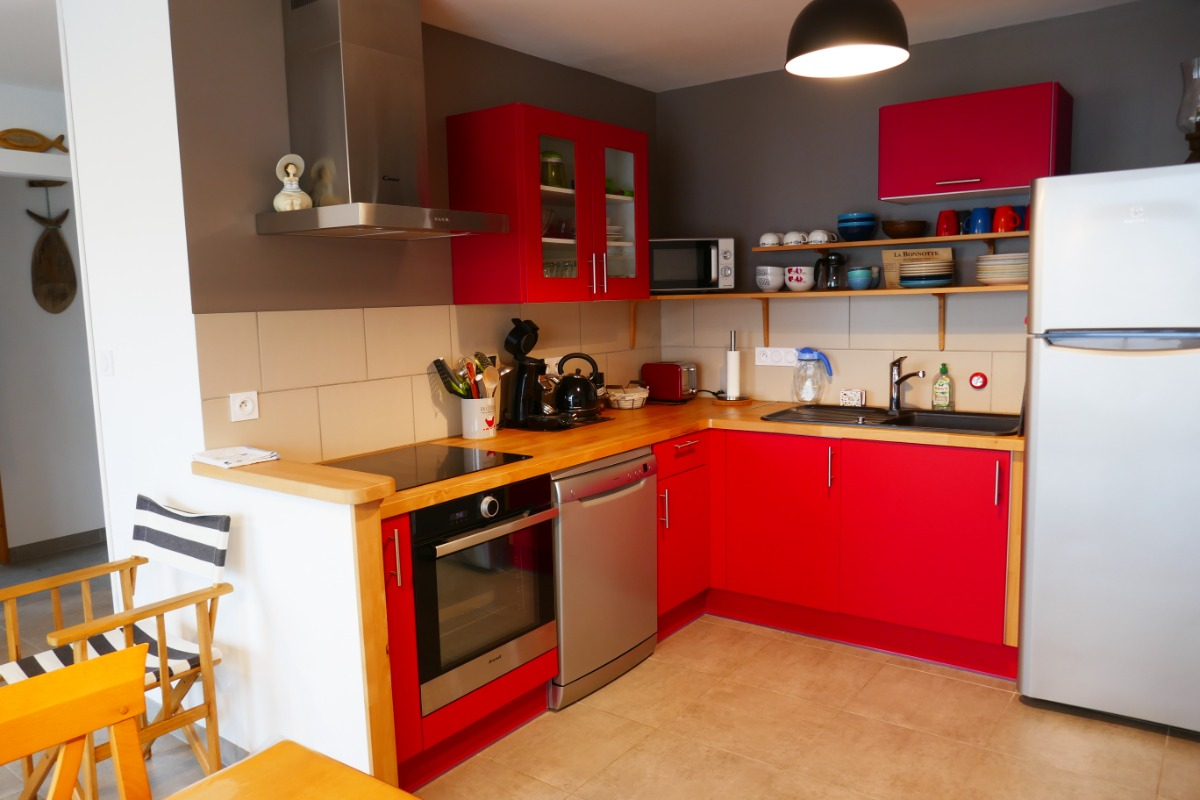 Cuisine - Location de vacances - La Guérinière