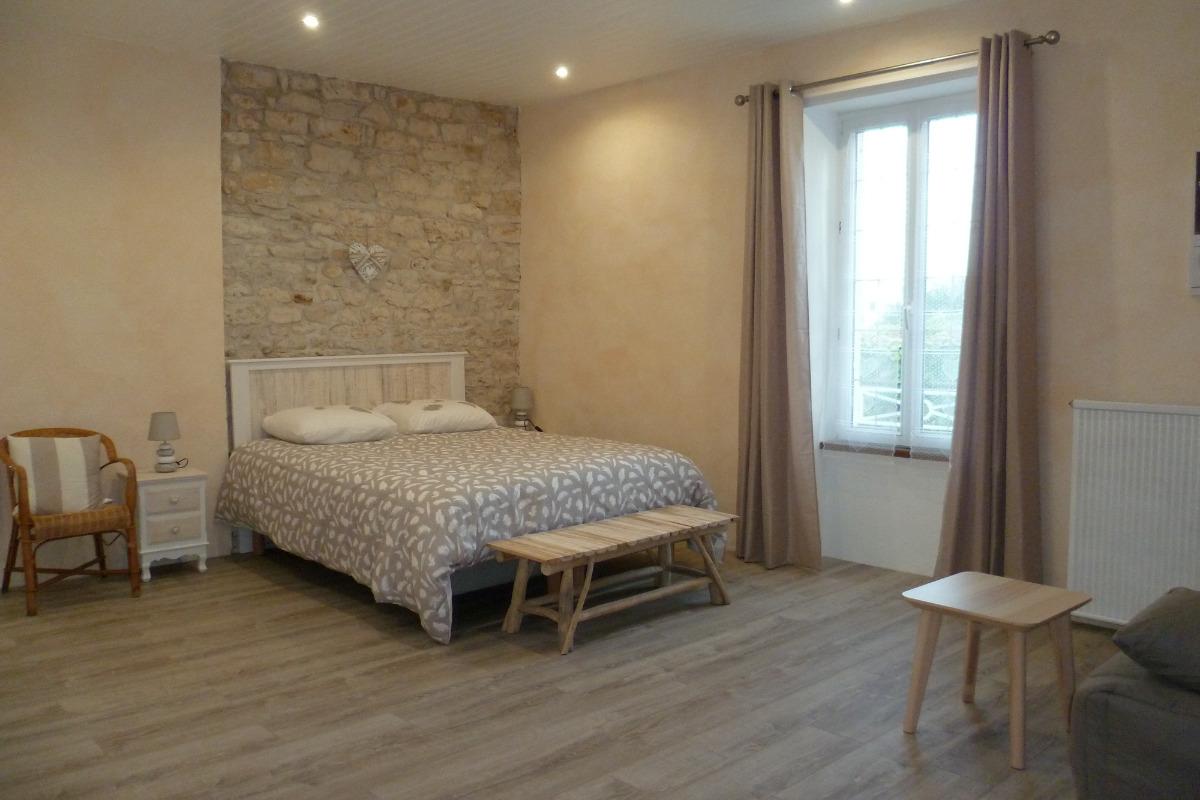 Chambre Romance - Chambre d'hôtes - La Caillère Saint Hilaire