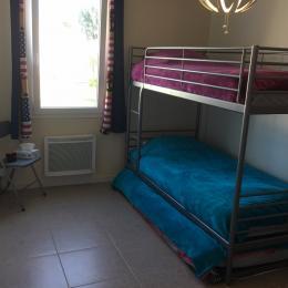 3 couchages de 90 cm - Location de vacances - Commequiers
