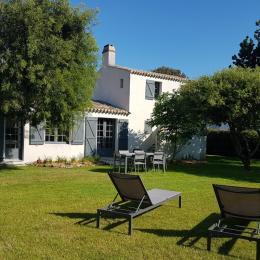 maison vue arrière - Location de vacances - Noirmoutier en l'Île