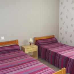 Chambre 2 lits de 90 - Location de vacances - Saint Jean de Monts