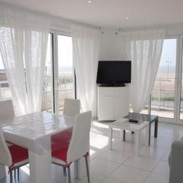 Pièce de vie - location vacances Appartement vue mer Saint Jean de Monts - Location de vacances - Saint Jean de Monts