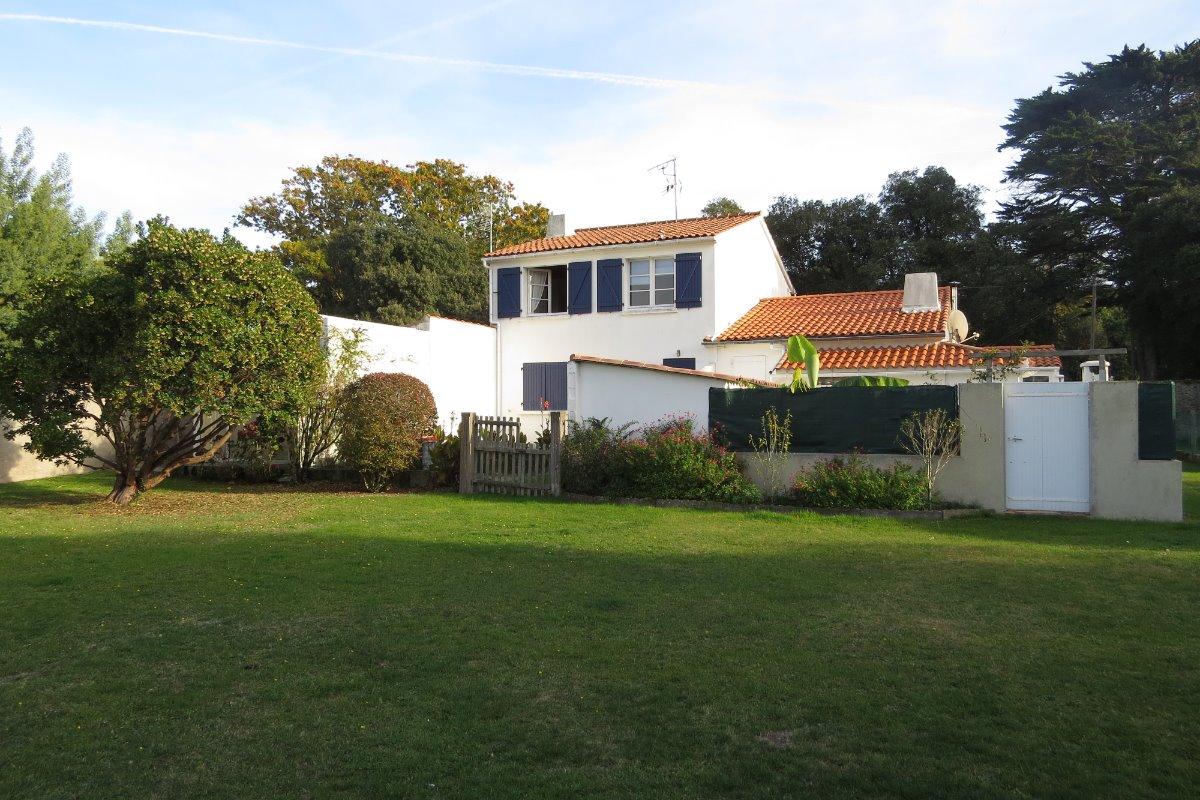 Balcon, terrasse - Location de vacances - Noirmoutier en l'Île