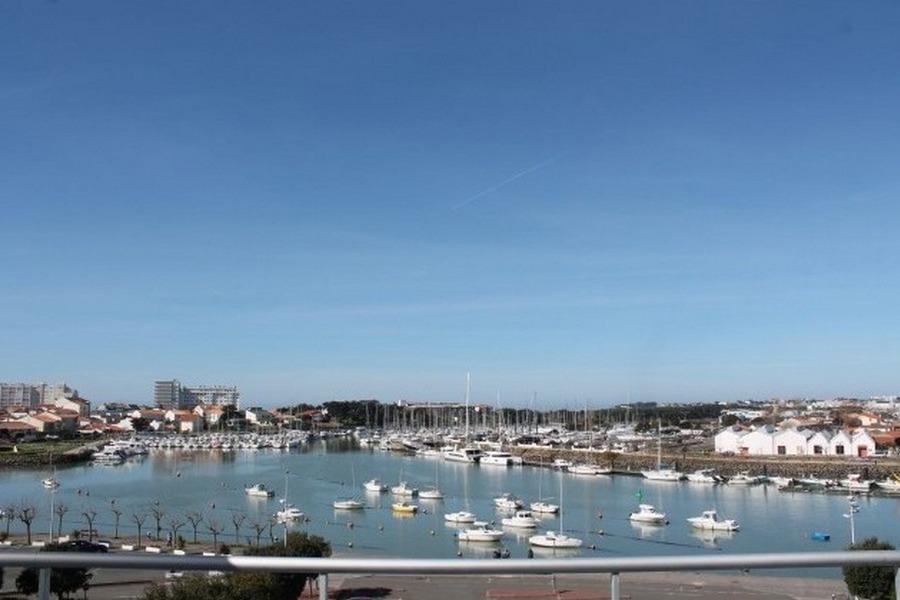 Vue sur le port - Location de vacances - Saint Gilles Croix de Vie