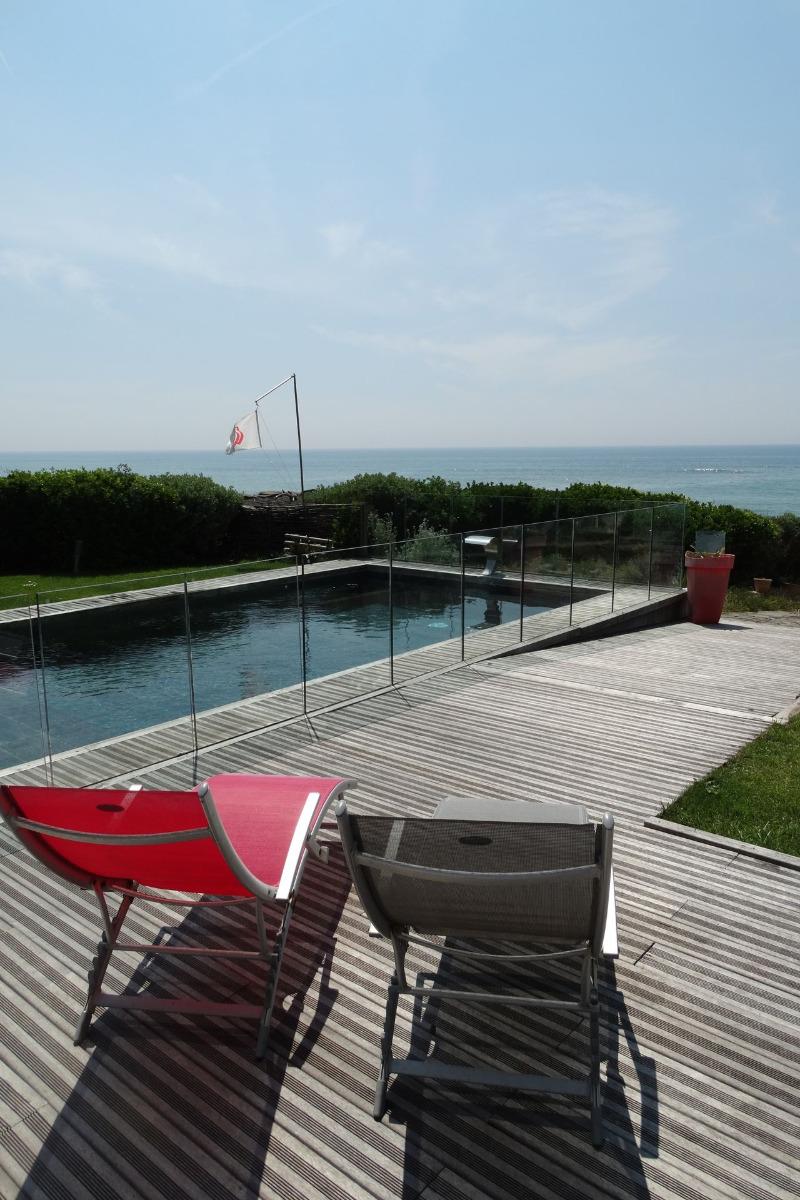 Vue depuis la piscine - Location de vacances - Bretignolles sur Mer
