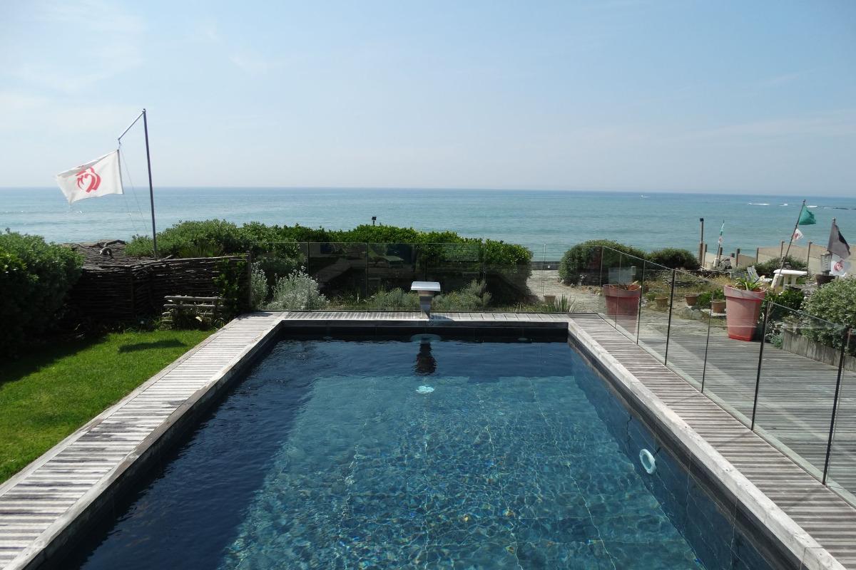 Vue de la piscine - Location de vacances - Bretignolles sur Mer