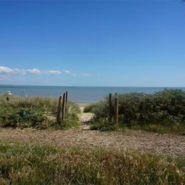 Accès plage - Location de vacances - La Guérinière