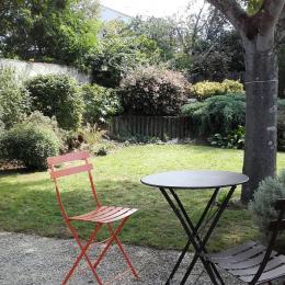 jardin arrière - Location de vacances - Saint Jean de Monts