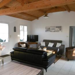 Séjour - vue salon - Location de vacances - Noirmoutier en l'Île