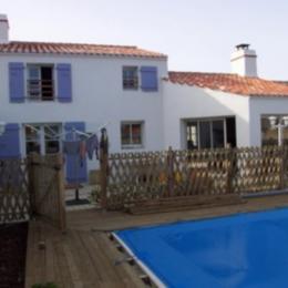 Maison + piscine - Location de vacances - L'Épine