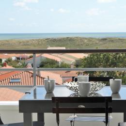 Terrasse vue mer - Location de vacances - Saint Gilles Croix de Vie