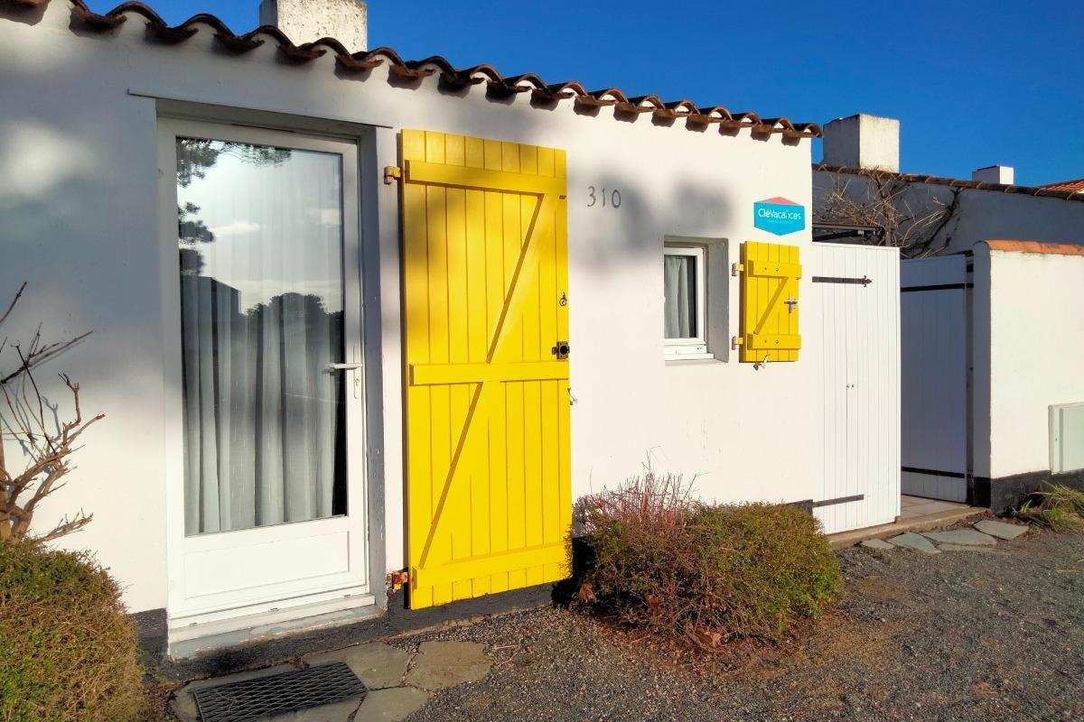 Façade - Location de vacances - Bretignolles sur Mer