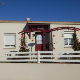 vue façade - Location de vacances - L'Aiguillon sur Vie