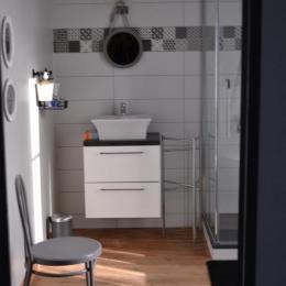 Salle d'eau - Chambre d'hôtes - Thiré