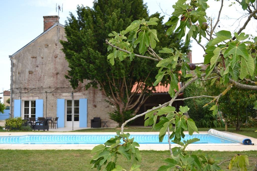 La maison de Thiré - Piscine - Chambre d'hôtes - Thiré