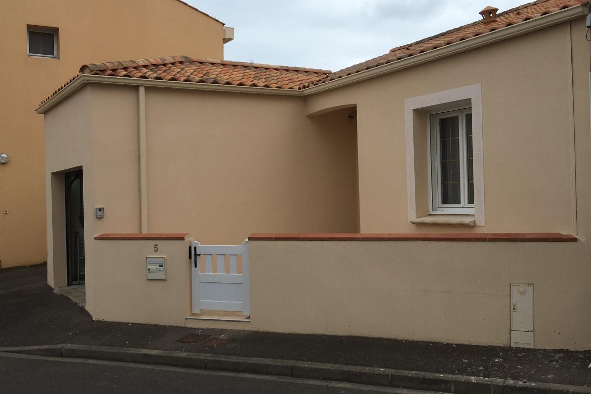 Terrasse couverte - SPA barbecue - Location de vacances - Les Sables-d'Olonne