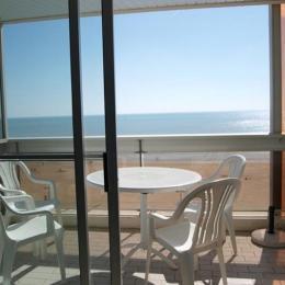 Vue balcon - Location de vacances à Saint Jean de Monts - Location de vacances - Saint Jean de Monts