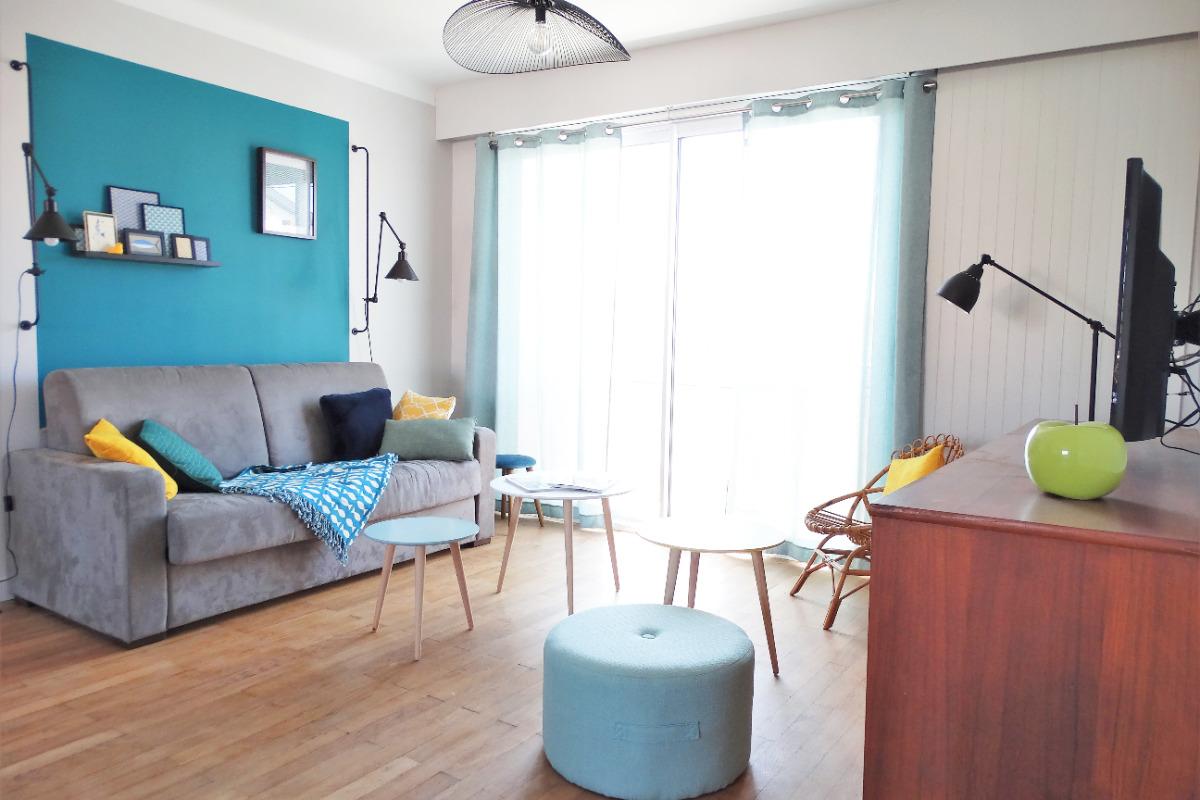 Séjour-salon - Location de vacances - Saint Gilles Croix de Vie