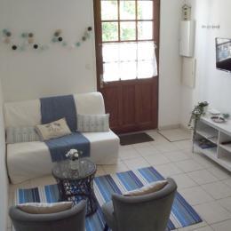 Pièce de vie avec couchage en BZ  - Location de vacances - Noirmoutier en l'Île