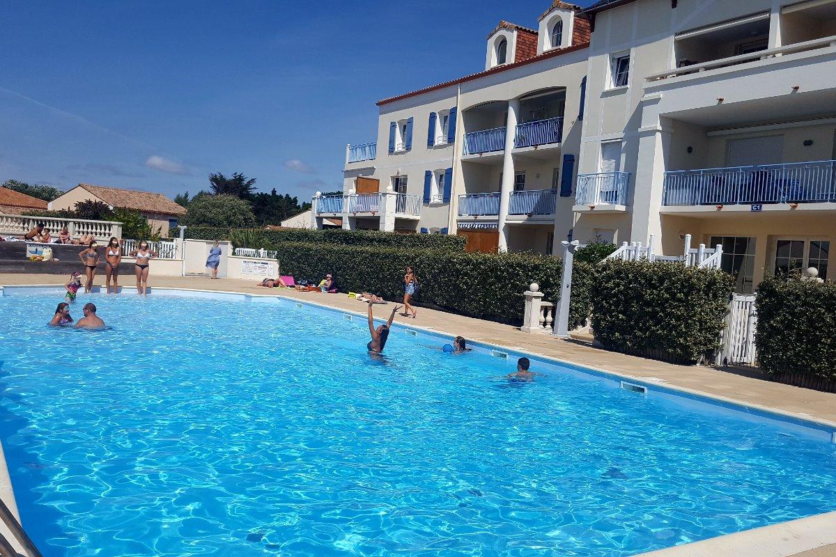 Appartement dans r sidence avec piscine bretignolles sur - Residence vacances var avec piscine ...