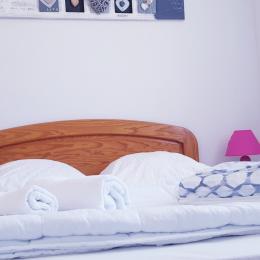 Chambre lit en 140 - Location de vacances - Bretignolles sur Mer