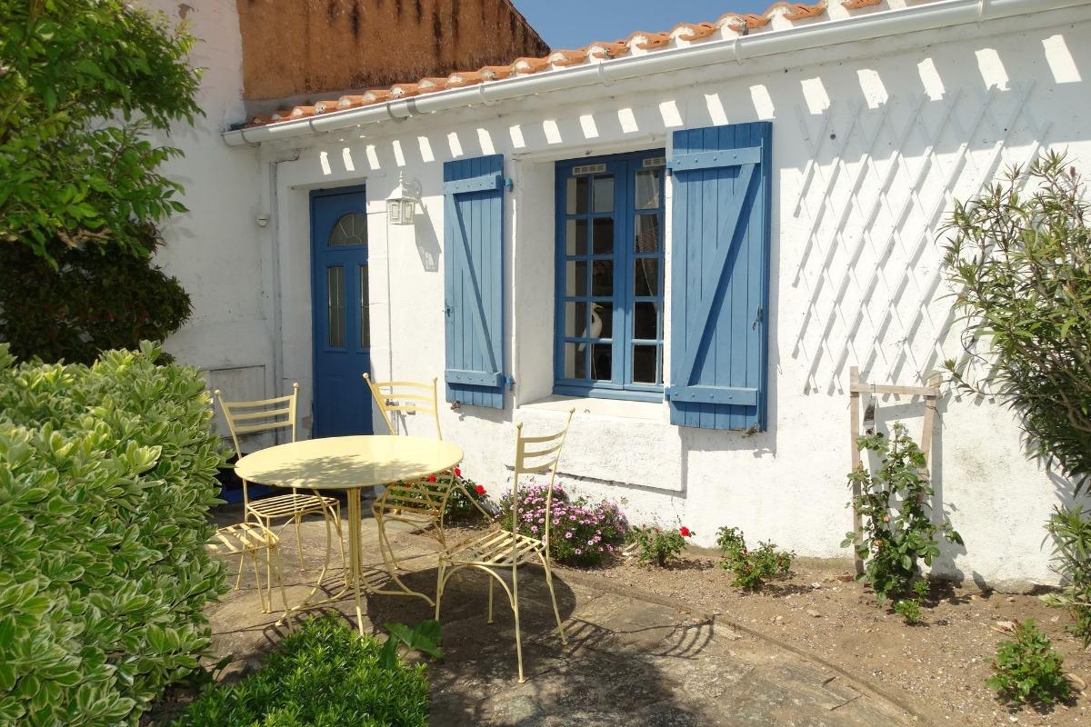 Cour - Location de vacances - Saint Gilles Croix de Vie