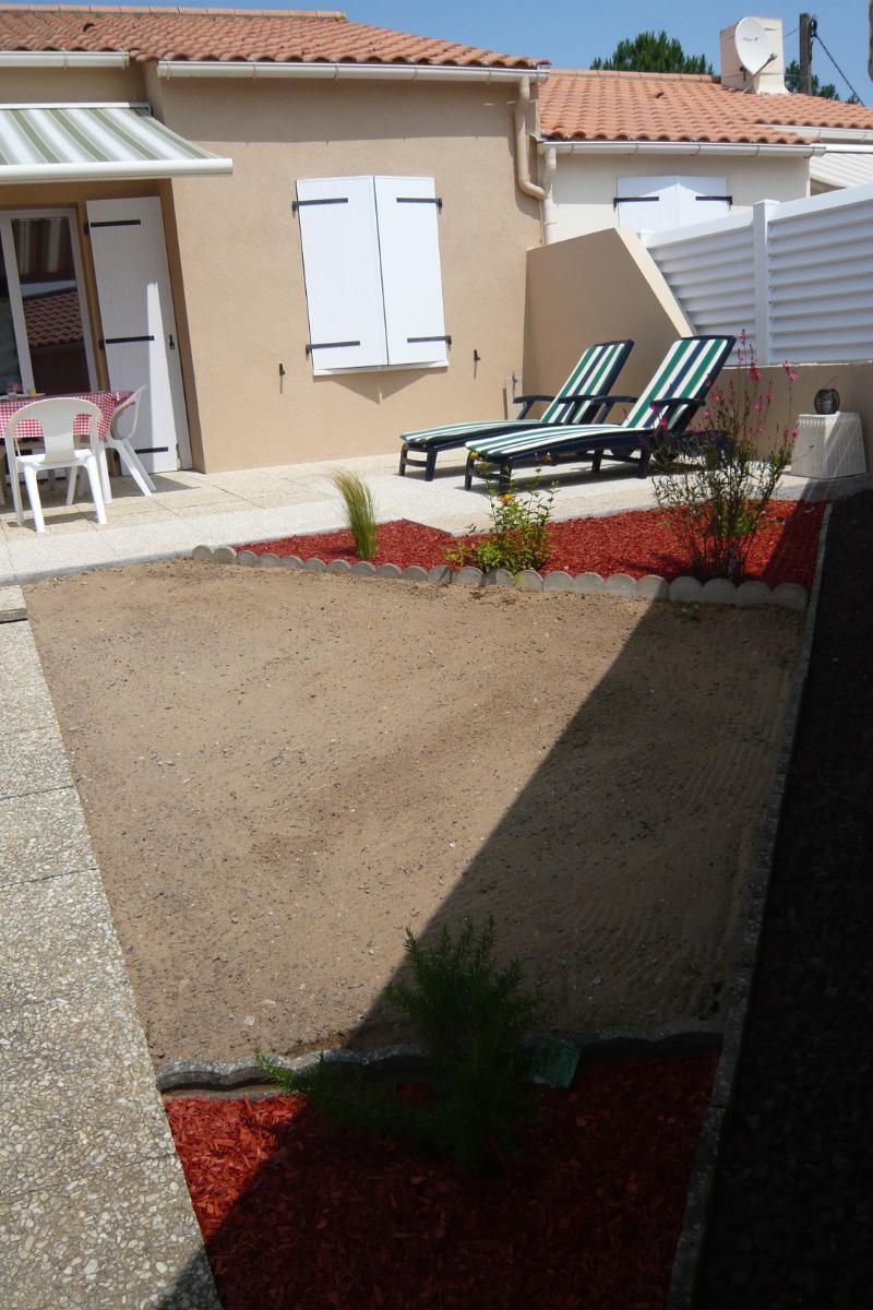 Terrasse cour fermée - Location de vacances - Bretignolles sur Mer