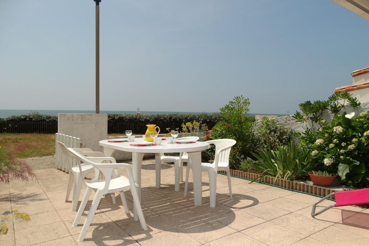 Terrasse - Location de vacances - Saint Gilles Croix de Vie