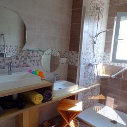 Salle d'eau - Chambre d'hôtes - Saint Paul en Pareds