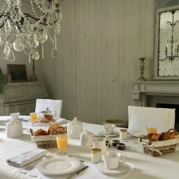 Petit-déjeuner - Chambre d'hôtes - Luçon