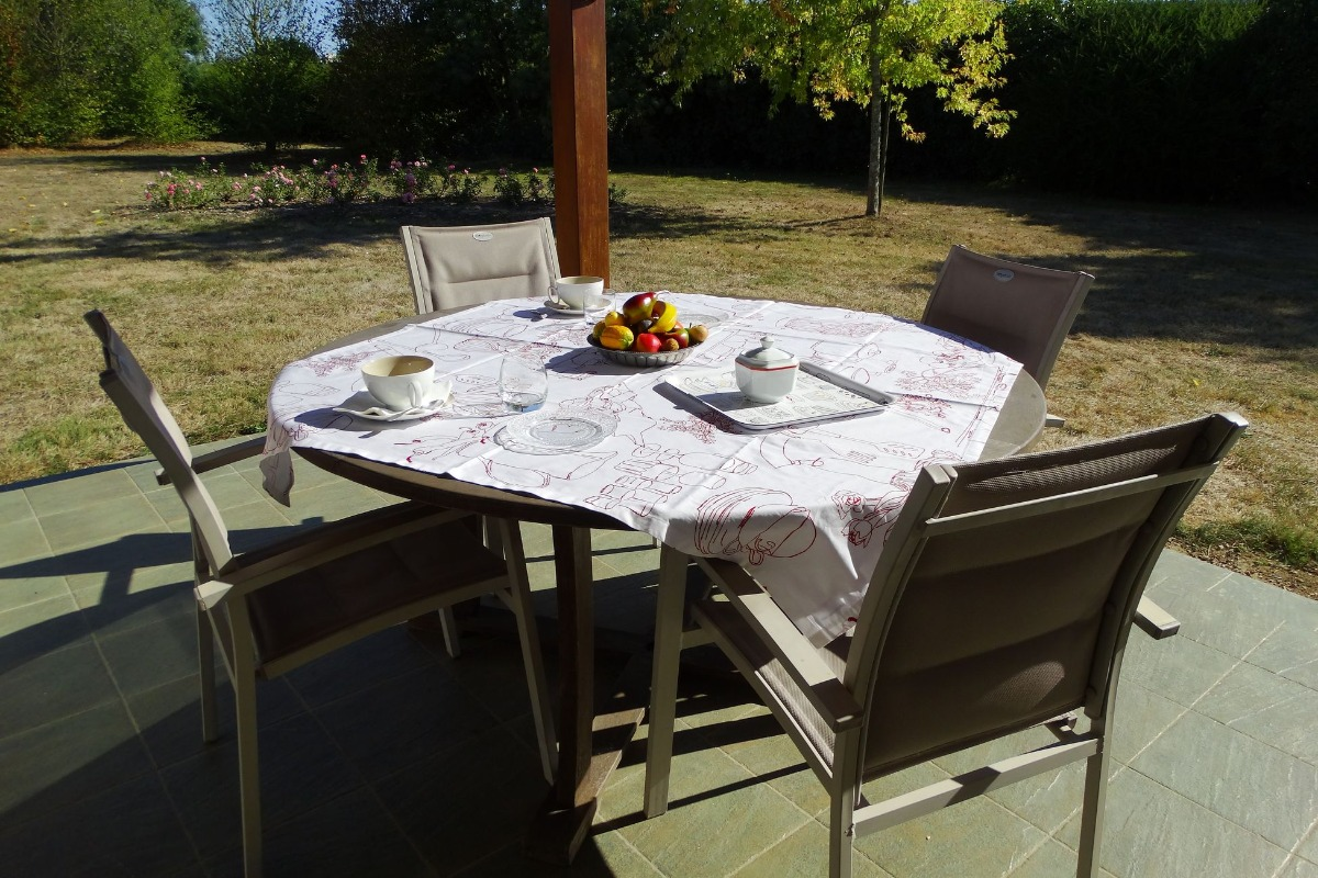 Terrasse - Location de vacances - L'Aiguillon sur Vie