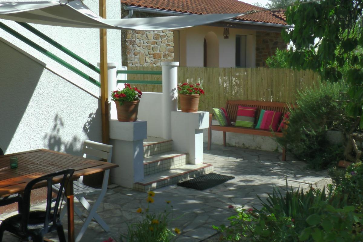 Terrasse - Location de vacances - L'Épine