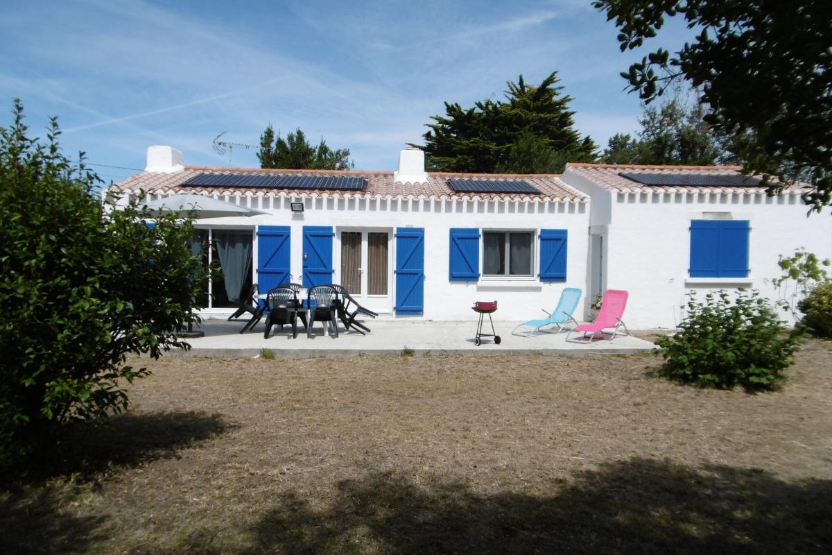 Façade - Location de vacances - La Guérinière
