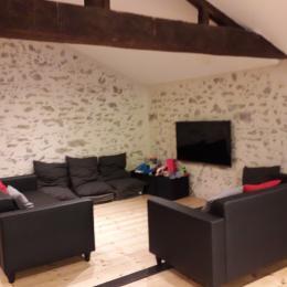 salon dédié aux enfants en mezzanine - Location de vacances - Les Herbiers