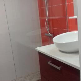Salle d'eau - Location de vacances - La Meilleraie Tillay