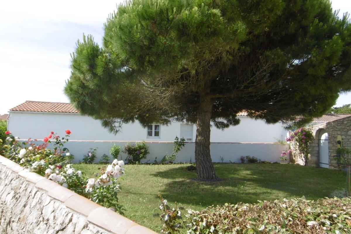 Jardin - Location de vacances - Barbâtre