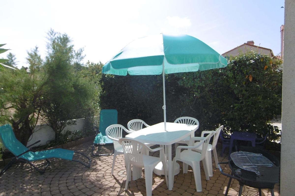 Terrasse - Location de vacances - Barbâtre