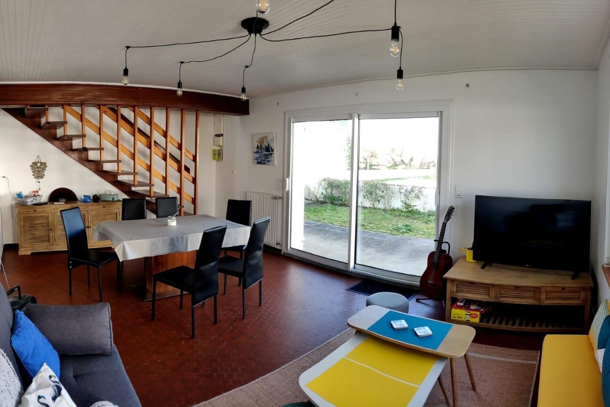 Pièce de vie - Location de vacances - Noirmoutier en l'Île