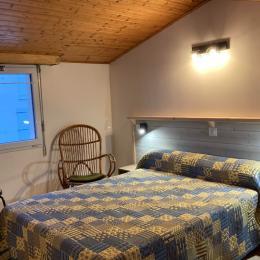 Chambre 2 lits en 80 - Location de vacances - Bretignolles sur Mer