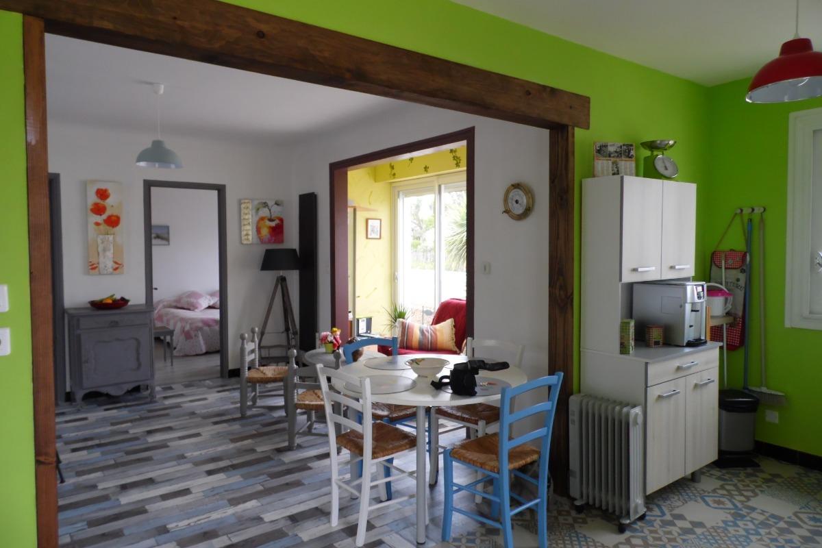 Pièce de vie - Location de vacances - La Faute-sur-Mer