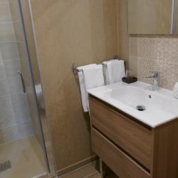Salle d'eau - Chambre d'hôtes - L'Hermenault