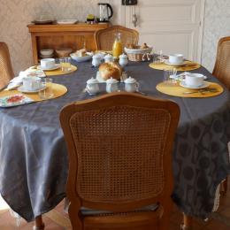 Petit-déjeuner - Chambre d'hôtes - L'Hermenault