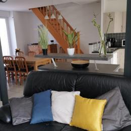 salon séjour - Location de vacances - Sèvremont