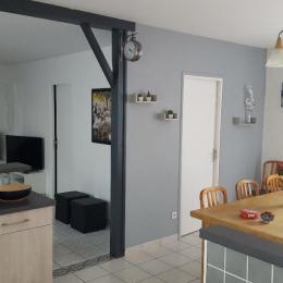 salon séjour extérieur - Location de vacances - Sèvremont