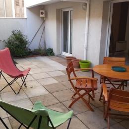Terrasse - Location de vacances - Les Sables-d'Olonne